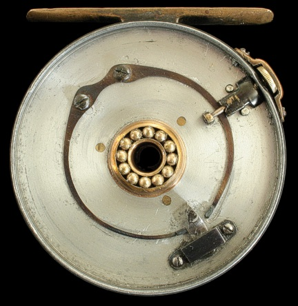 "3"" Wide drum Brass faced reel"