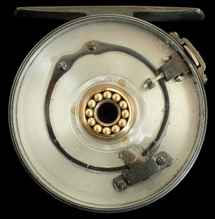 "All Alloy reel with heavier ""C"" spring."