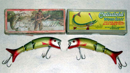 DAM15 DAM, Heddon, Creek Chub, Gobel & Ever Ready Lures.