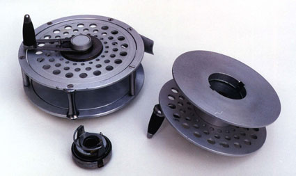 Morner Reel with spare spool and brake mechanism