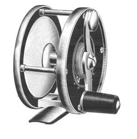 Model 360 Perfection fly reel with adjustable drag.